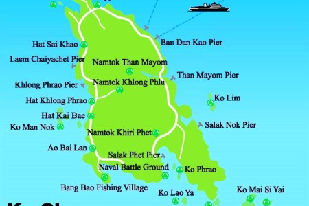 koh chang tourist attractions map » Full HD MAPS Locations - Another ...