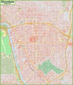 glendale ca tourist map » ..:: Edi Maps ::.. | Full HD Maps