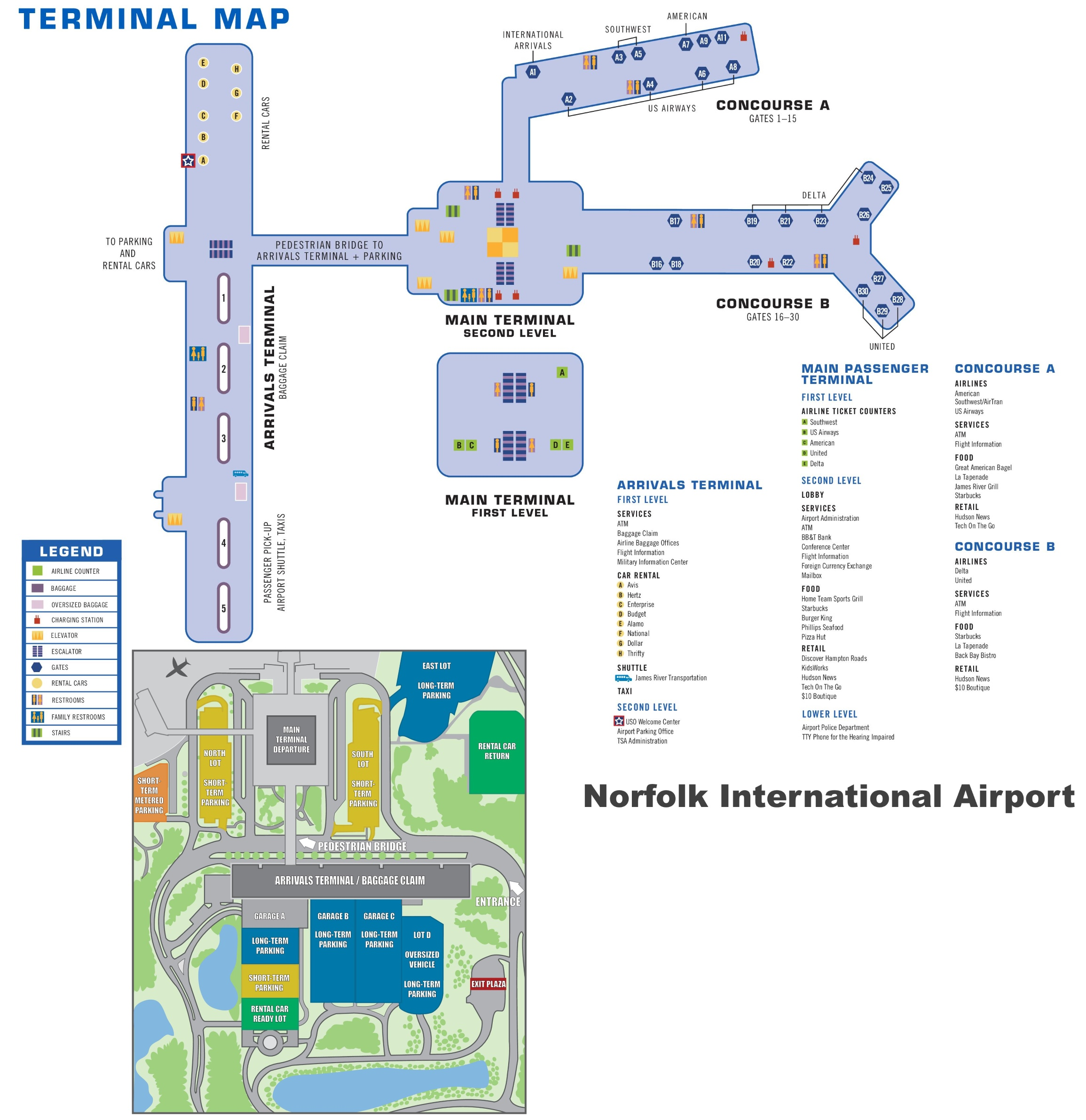 norfolk airport map norfolk va » Full HD MAPS Locations - Another ...