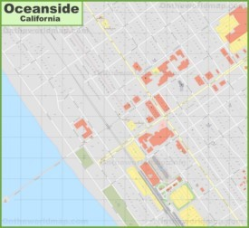 oceanside location on the us map » Another Maps [Get Maps on HD ...