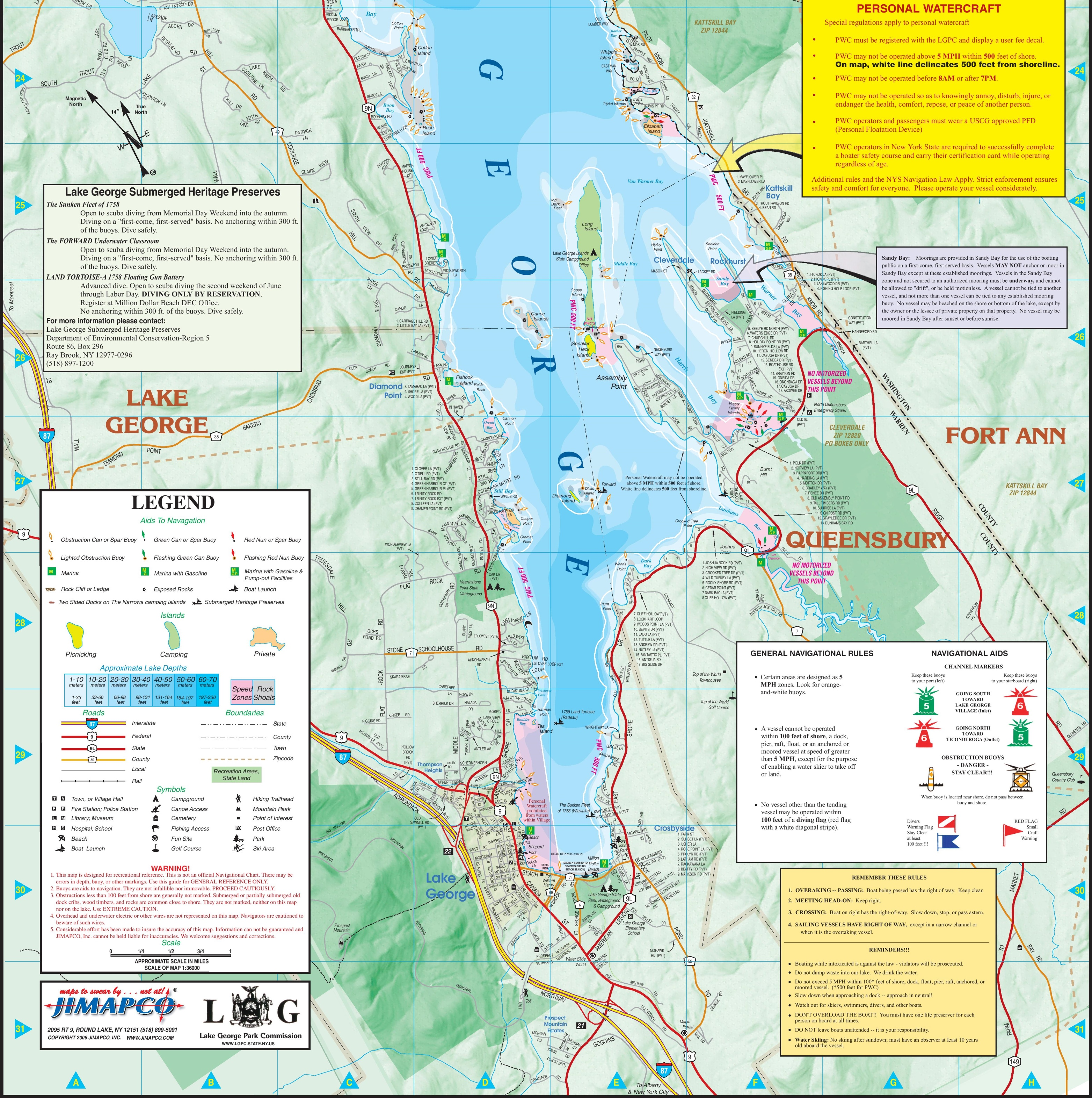 Lake George Colorado Map