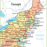 Map Of Northeastern United States