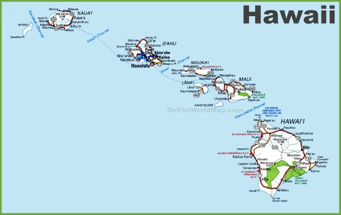 Image result for Hawaii images map