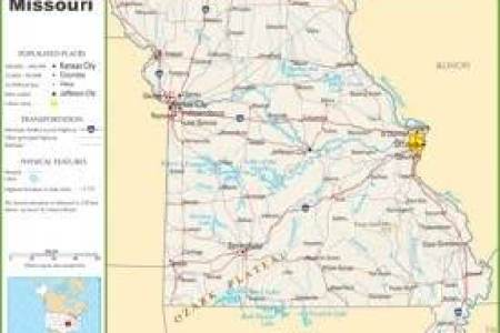 Missouri State Map With Cities Another Maps Get Maps On Hd