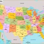 Usa Map Maps Of United States Of America Usa U S