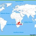 Zambia Map Maps Of Zambia