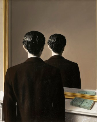 La reproduction interdite (Not to be Reproduced), 1937, René Magritte. Oil on canvas. Museum Boijmans van Beuningen, Rotterdam.