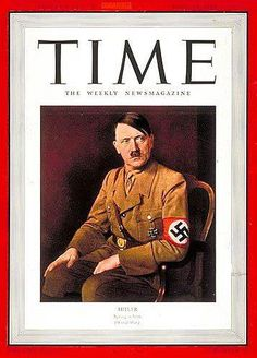 Adolf Hitler, 'Man of the Year', 1938 TIME