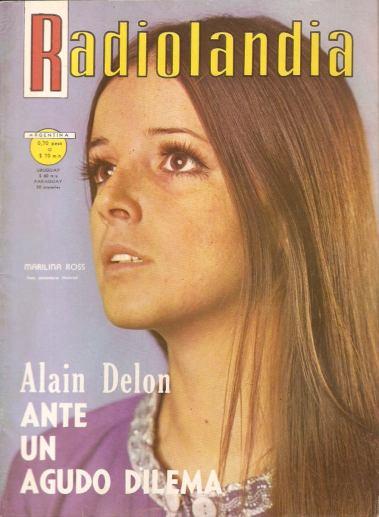 Annemarie Heinrich (1970) Radiolandia cover portrait of Marilina Ross in La Tapa de la Revisit