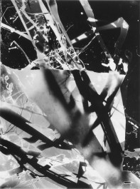 Floris Neusüss: Nachtbild, photogram.