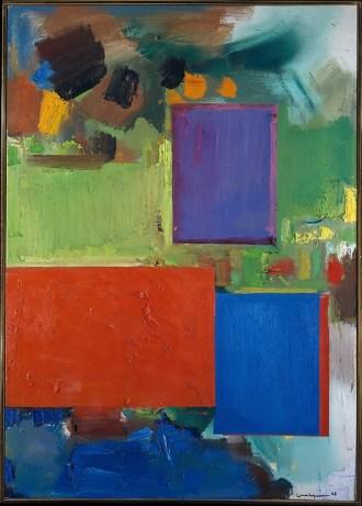 Hans Hofmann (1965) Rhapsody Oil on canvas