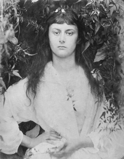 Julia Margaret Cameron (1872) Alice Liddell photogravure.