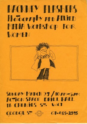 Poster for the Hackney Flashers