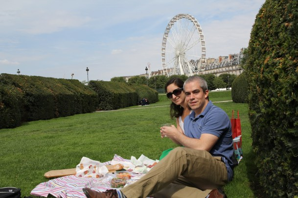 Gourmet picnic with a view!