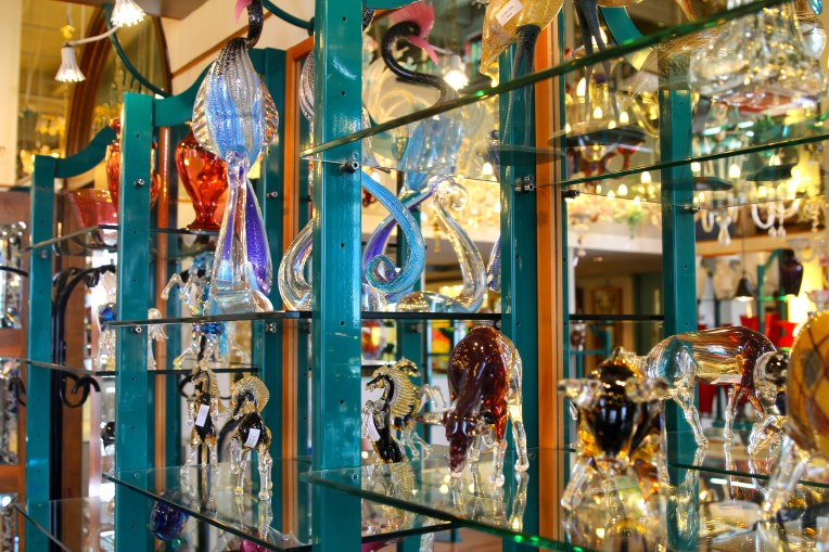 Glassblowing factory on Murano