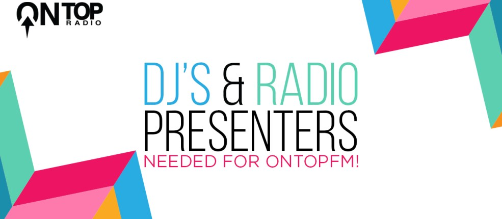 DJ's needed