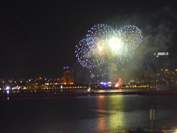 Feuerwerk Silvester Dubai