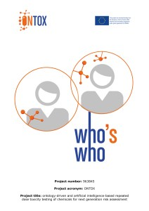 Who is Who cover page with the ONTOX logo and EU H2020 logo