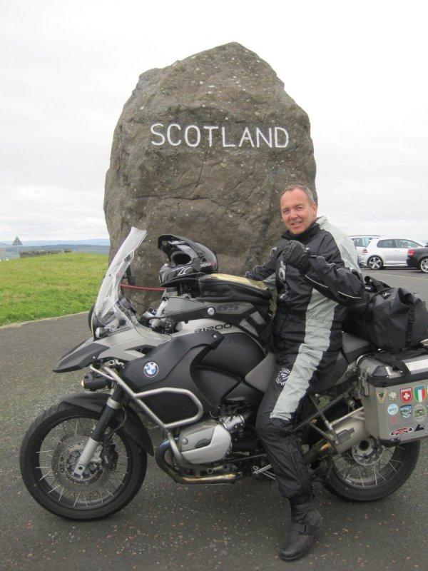 Grenze Schottland-England