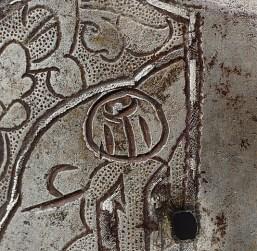 osmanlı kayı 15yy çelik altın ve gümüş kaplama
