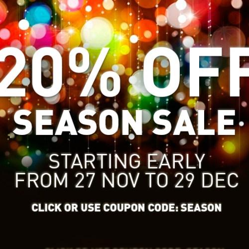 Season sale software