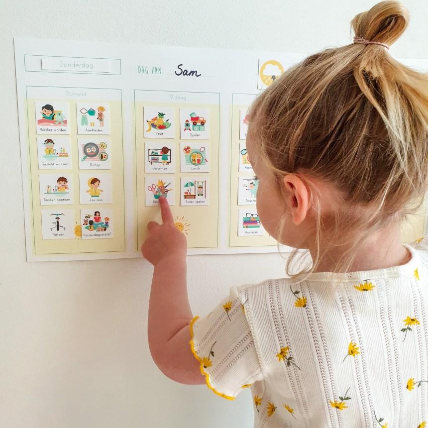 weekplanner dagplanner routine ontwerp door lindy