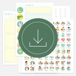 weekplanner dagplanner totaal kind ontwerp door lindy download compleet