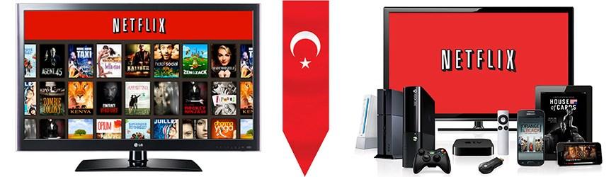 Türkiye'den Netflix Aboneliği