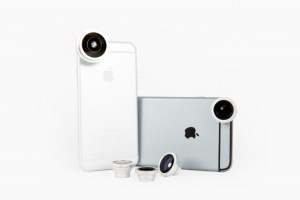 Magnetic lens for smartphone photography