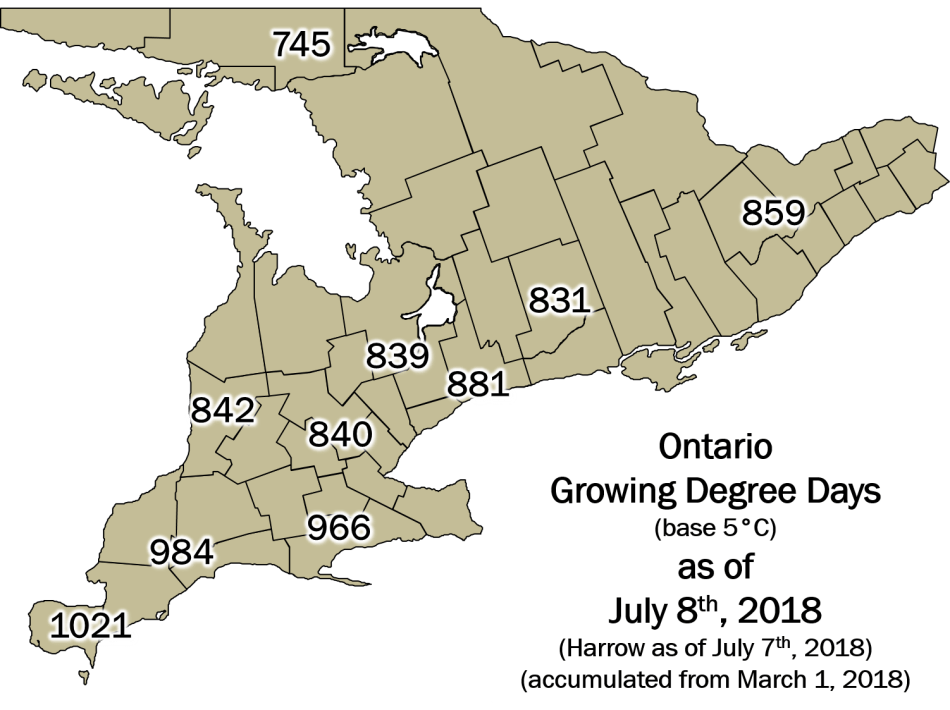 Ontario DD Map July8