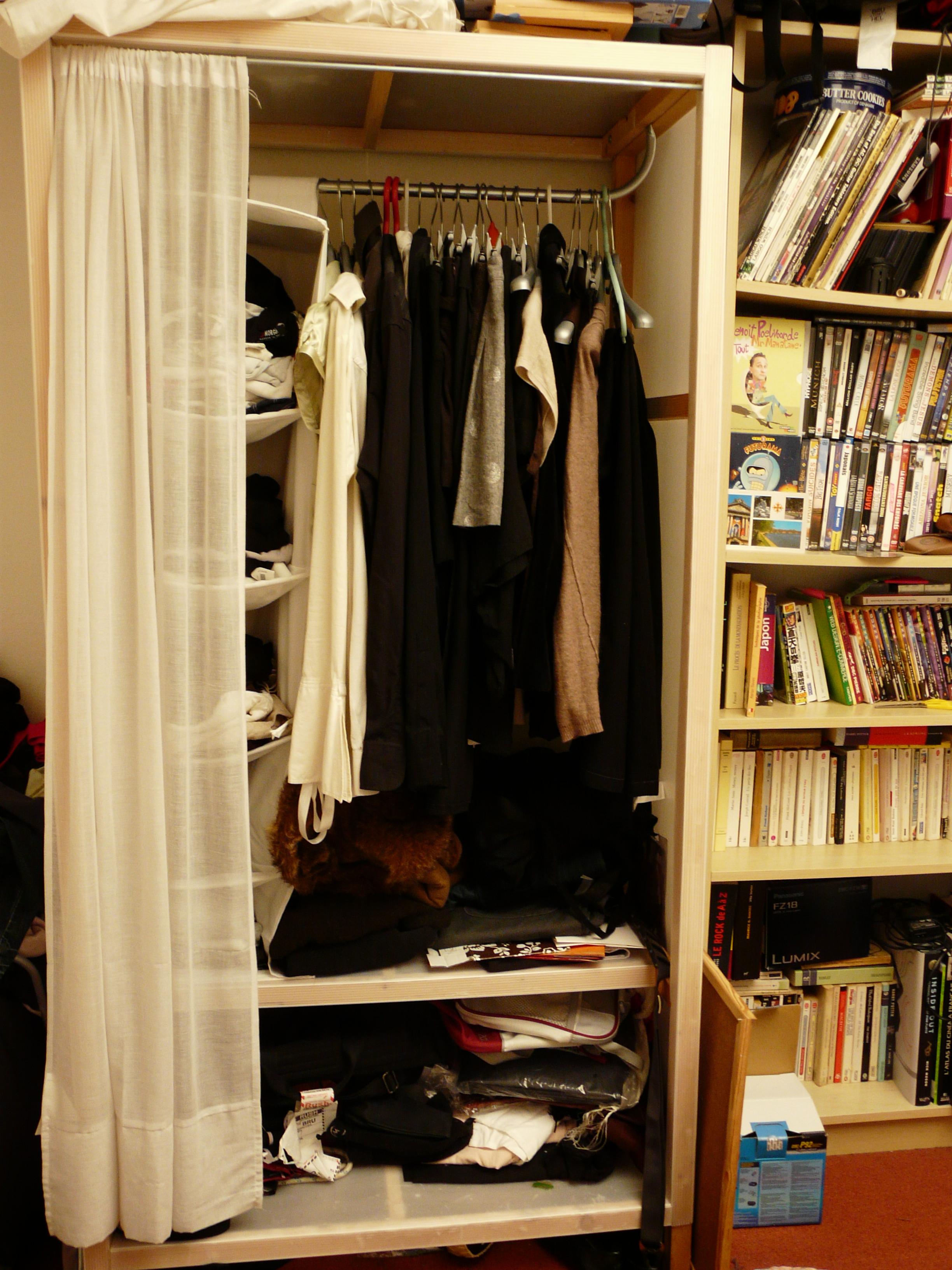 rideau pour armoire ikea bright