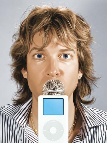 Adam Curry iPodder
