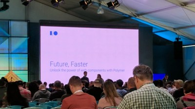 Future, Faster: Unlock the Power of Web Components with Polymer — Google I/O 2017 Live Blogs