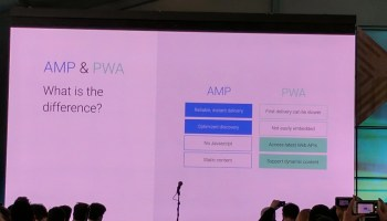 From AMP to PWA: Progressive Web AMPs -- Google I/O 2017 Live Blogs