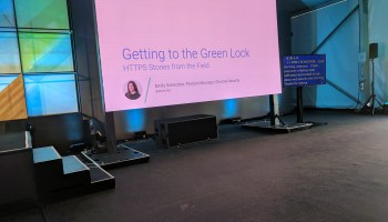 Getting the Green Lock: HTTPS Stories from the Field -- Google I/O 2017 Live Blogs