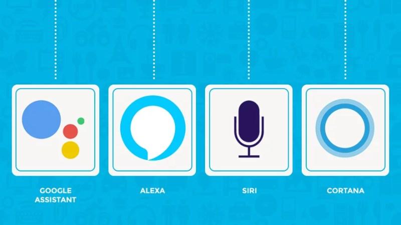Voice Assistant Icons
