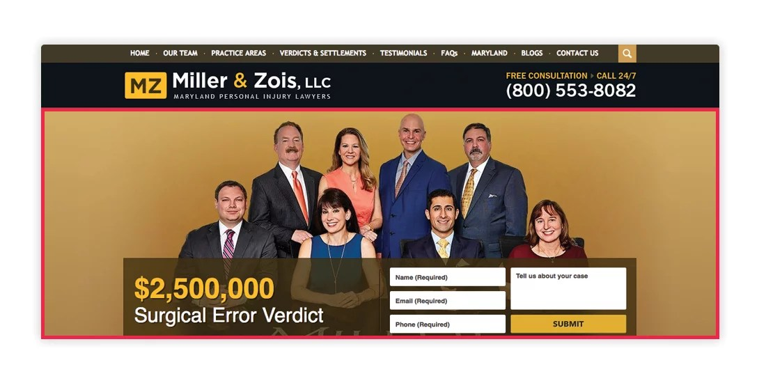 Miller & Zois Home Page