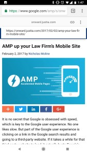You can now access the canonical url for an AMP page easily