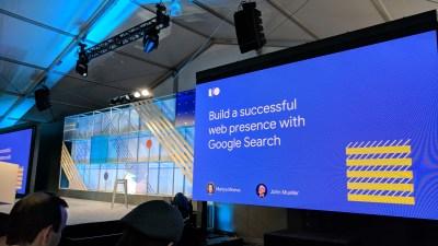 Build a successful web presence with Google Search — #io18 Live Blogs