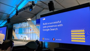 Build a successful web presence with Google Search -- #io18 Live Blogs