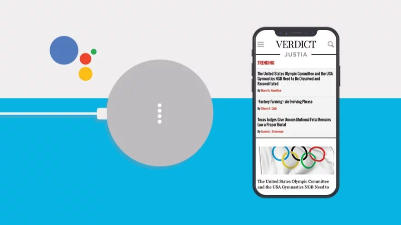 Justia's Verdict Now Available on Google Assistant