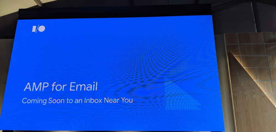 AMP for Email: Coming Soon to an Inbox Near You — #io19 Live Blogs