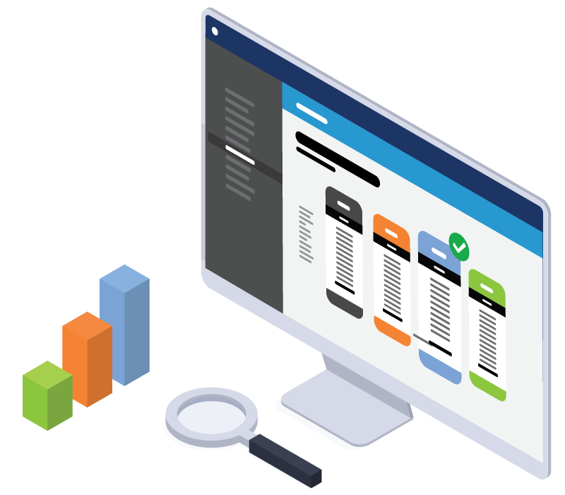 Illustration of the Onward Advisors Web App