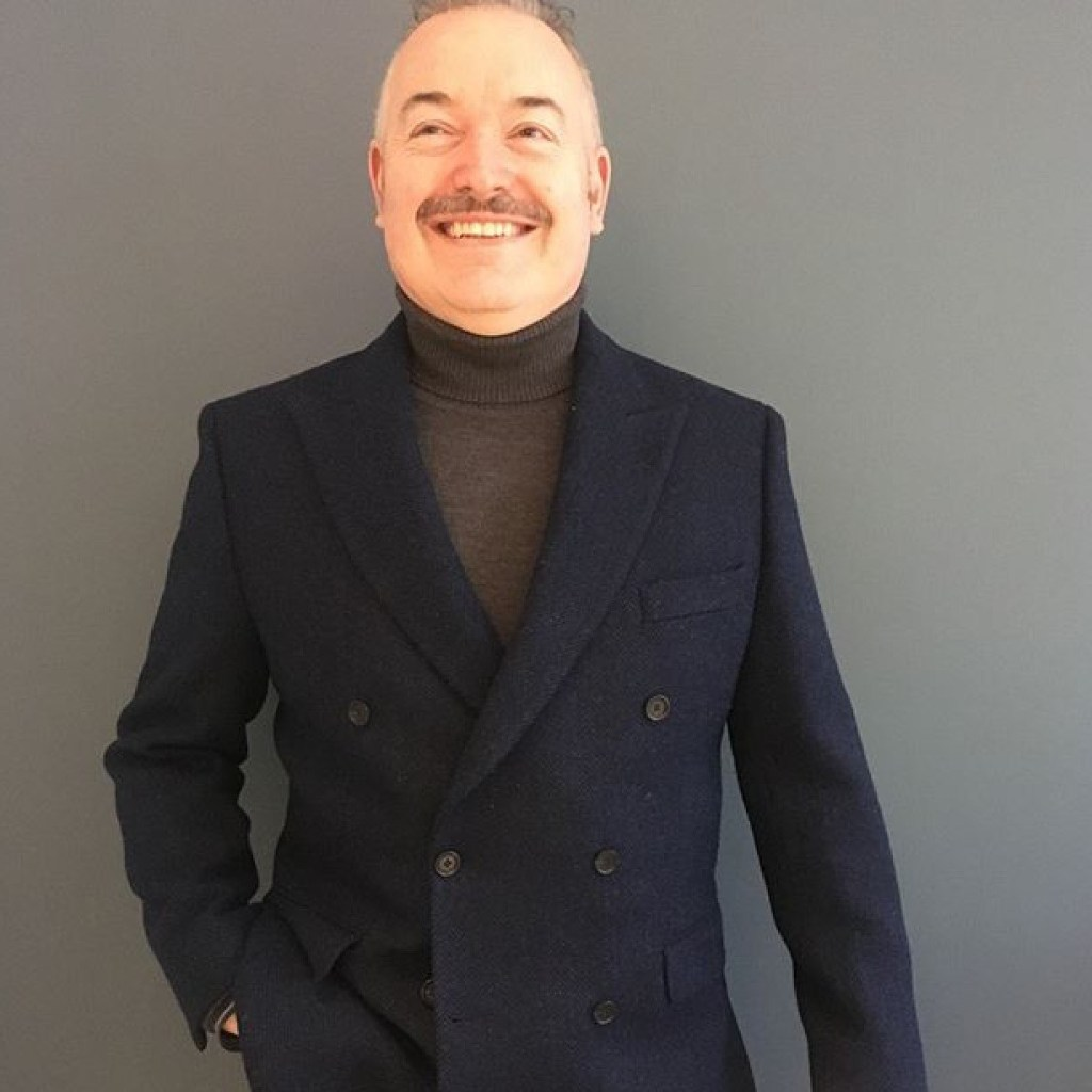 Photo of Paul Alger, International director of UK Fashion and Textiles Association