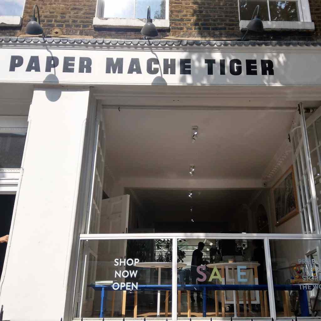 Paper Mache Tiger multi brand store