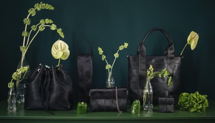 Eko Seatbelt sustainable handbags and accessories