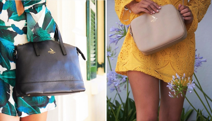 Luxury Affordable leather handbags Bermuda Born | Onwards and Up