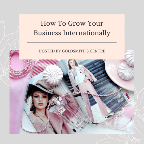 How to grow your business internationally panel presentation | Onwards and Up