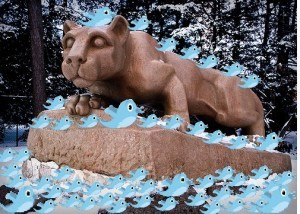 The Nittany Lion's all a-Twitter!