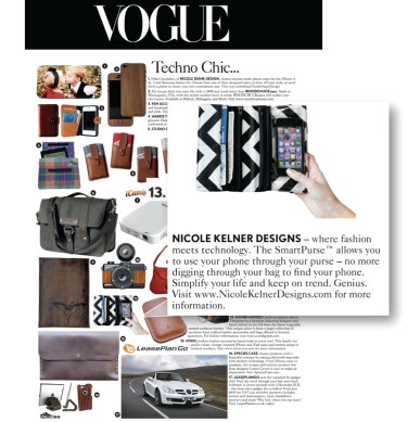 The SmartPurse on Vogue UK